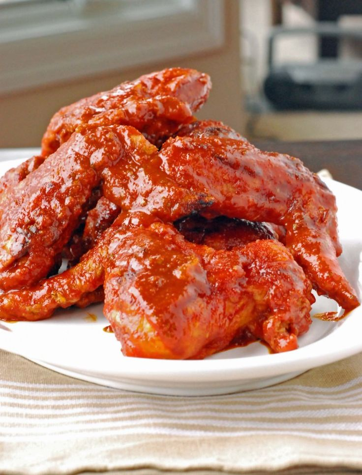 Korean Chicken Wings Recipe — Dishmaps