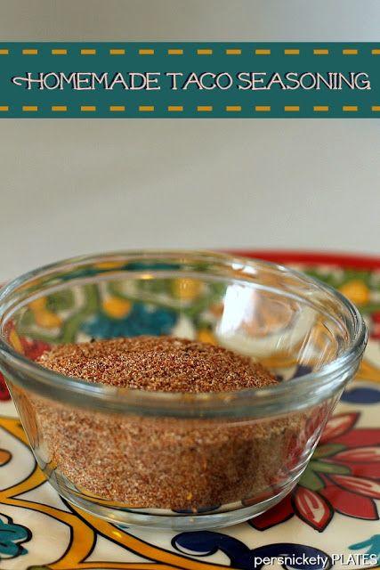 Homemade Mexican/Taco Seasoning | Recipes | Pinterest