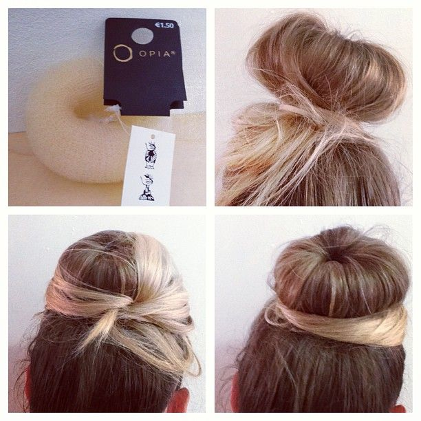 Our video tutorial will teach you how to do a sock bun, the glamorous look you've been seeing everywhere. These easy steps will help you to master this look!.