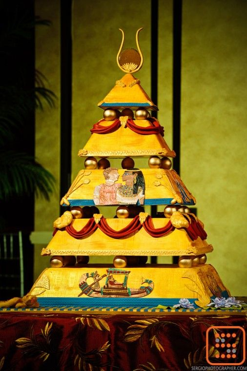 Egyptian cake cake decorating ideas pinterest for Ancient egyptian tomb decoration