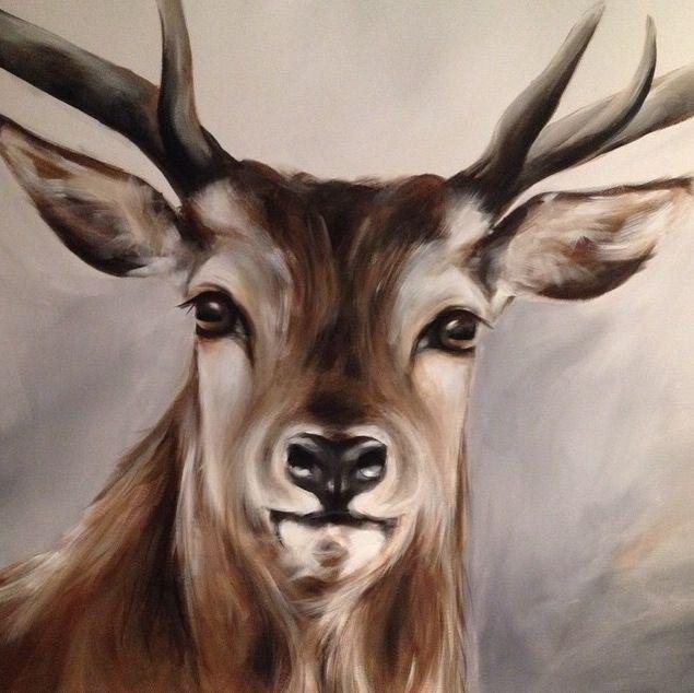 17 beste idee n over herten schilderijen op pinterest herten tekening dieren tekenen en