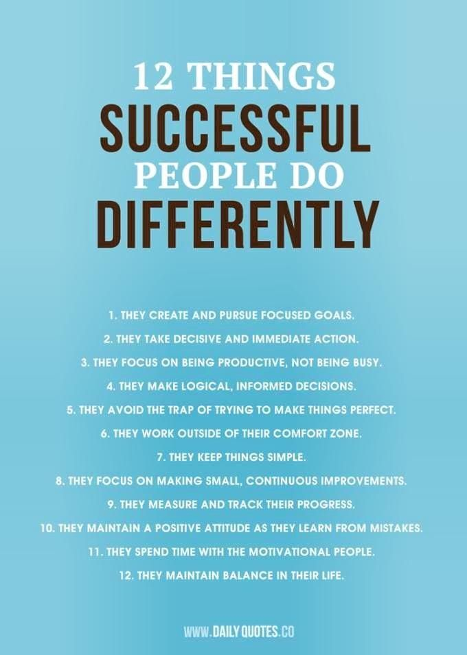 habits of successful people The most successful people all have certain habits in their daily routines plan for success every day with my free report, no excuses the power of self-dis.