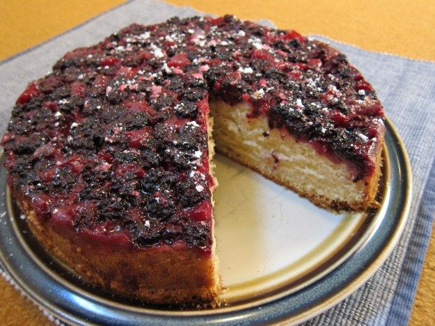 Blackberry Buttermilk Cake | Foraging Recipes | Pinterest