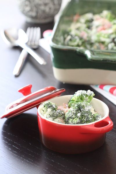 Creamy Bacon and Roasted Red Pepper Broccoli Bake...and RWOP! - Picky ...