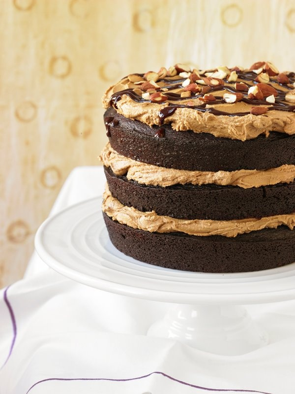mocha cake mocha hazelnut torte cake glazed mocha fudge cake cakes ...