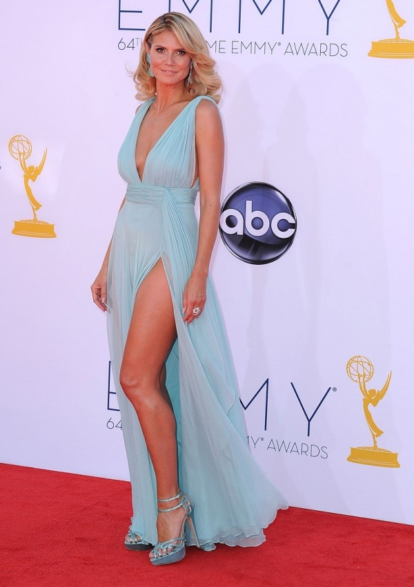 Hedi Klum in Alexandre Vauthier Couture at the ...