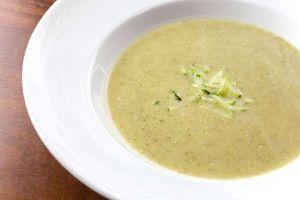 Easy Zucchini Soup | FaveHealthyRecipes.com