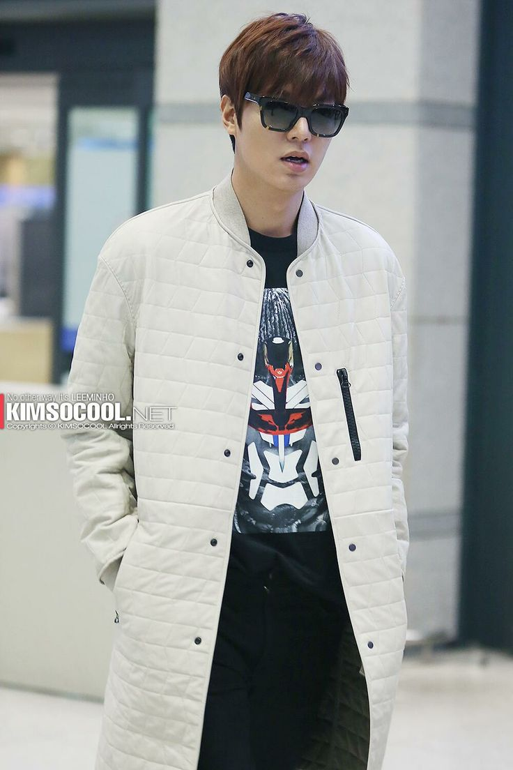 Lee Min Ho Airport Fashion Hottest Pinterest