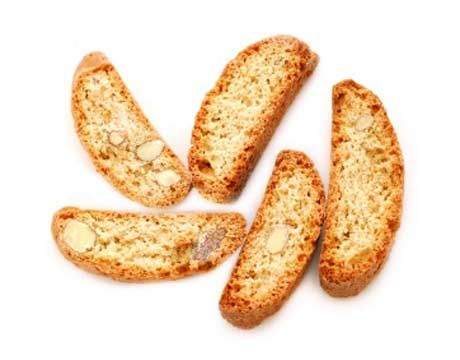 Cornmeal Rosemary Biscotti, substitute GF flour
