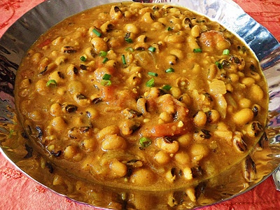 : Black-Eyed Pea Curry (Lobia Tariwaala) it's more a african curry ...