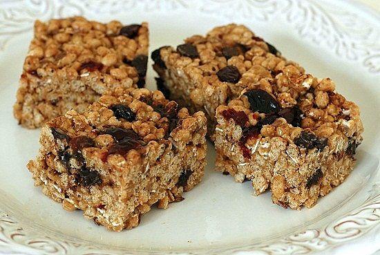Brown Rice Crispy Treat | yummers | Pinterest
