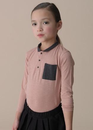 Image of soft gallery ° LANA polo rose | KIDS | Pinterest
