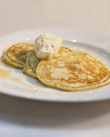 Lemon-Poppy Seed Ricotta Pancakes - | Breakfast | Pinterest