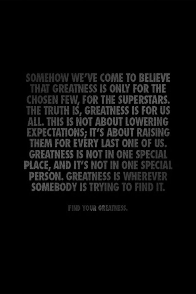 Strive For Greatness Nike Nike Quotes About Greatness