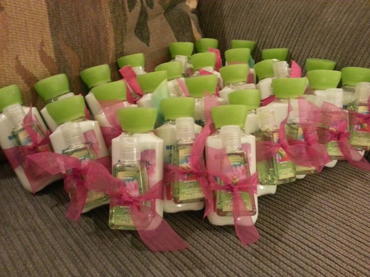 Bridal shower favors - maybe country chic or butterfly flower (cause ...