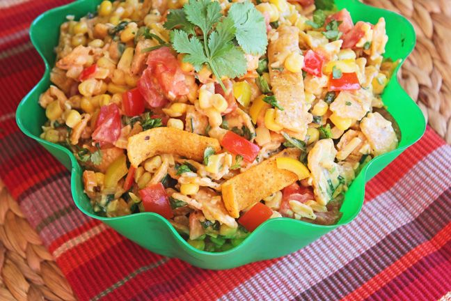Mexican Corn Frito Salad | There they are in all of their chili cheese ...