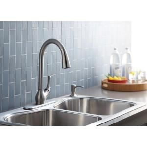 Kohler Barossa Faucet : KOHLER Barossa 1, 2, 3 or 4-Hole 1-Handle Pull-Down Sprayer Kitchen ...