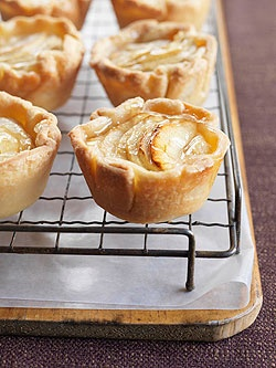 Rich homemade pastry sets the stage for a creamy-sweet combination of ...