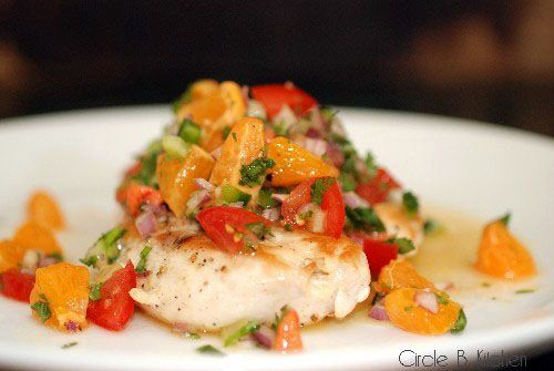 Sauteed Chicken with Clementine Salsa | Recipes & Food | Pinterest