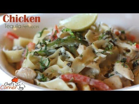 Tangy Tequila Chicken Pasta