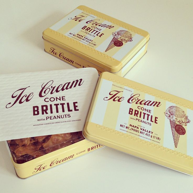 Williams-Sonoma Ice Cream Brittle | Stout Design