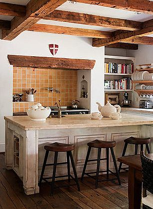 Warm Inviting Kitchen Kitchens Pinterest
