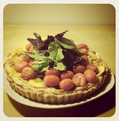 Italian Almond Tart | Vegan | Pinterest