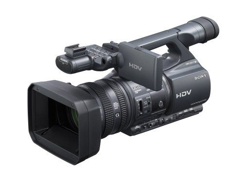 Sony HDRFX1000 High Definition MiniDV Handycam Camcorder  Sony $3198.00 - The Sony HDRFX1000 Handycam camcorder delivers HD broadcast-quality moving images. With 24p Progressive Scan Mode, the HDRFX1000's high-quality film-like motion lets you realize brilliant scene reproduction. CinemaTone Gamma and CinemaTone Color provide the HDRFX1000 with the color and gamma range to give your footage an even more film-like feel. #sony #video #camera