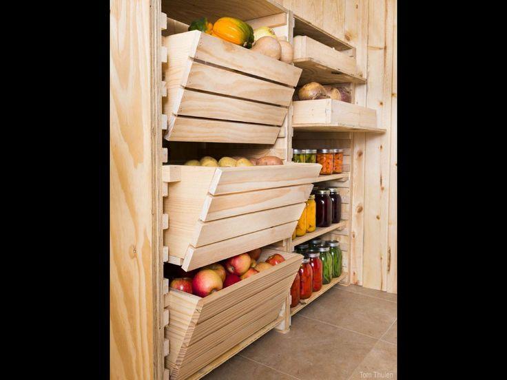 Custom pantry/cellar shelves   Crafty   Pinterest