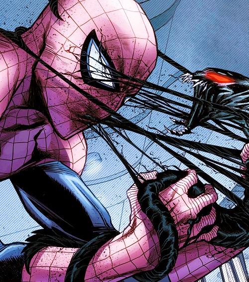 Spider-Man vs Symbiont | #comics | Hero land | Pinterest