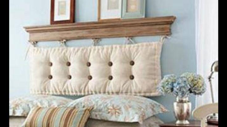 Cushion Headboard Craft Ideas Pinterest
