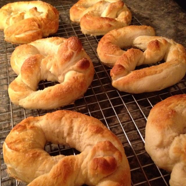 Homemade Pretzel Rolls | Recipes | Pinterest