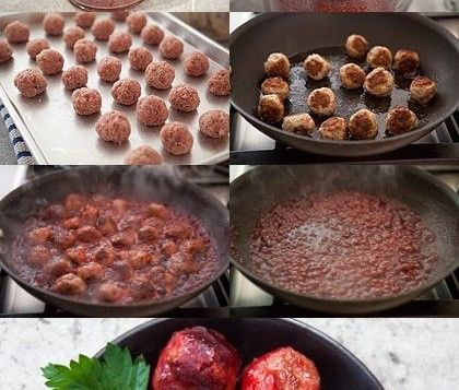 Cranberry Glazed Turkey Meatballs | Recipes | Pinterest