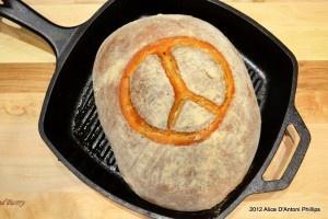 Meyer Lemon & Fresh Mint Peace Peasant Bread Week 32 http://www ...