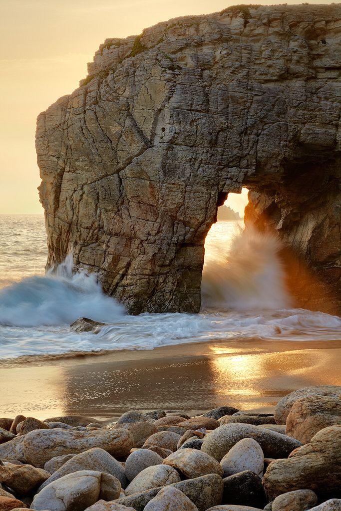 Peninsula of Quiberon, Brittany, France. Beautiful.