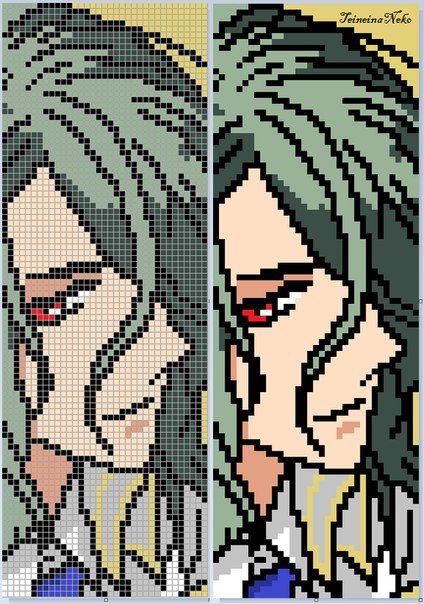 Картинки схемы фенечек аниме