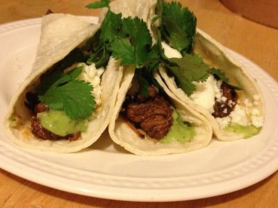 Coffee-Chile Braised Beef Brisket Tacos | Beef Recipes | Pinterest