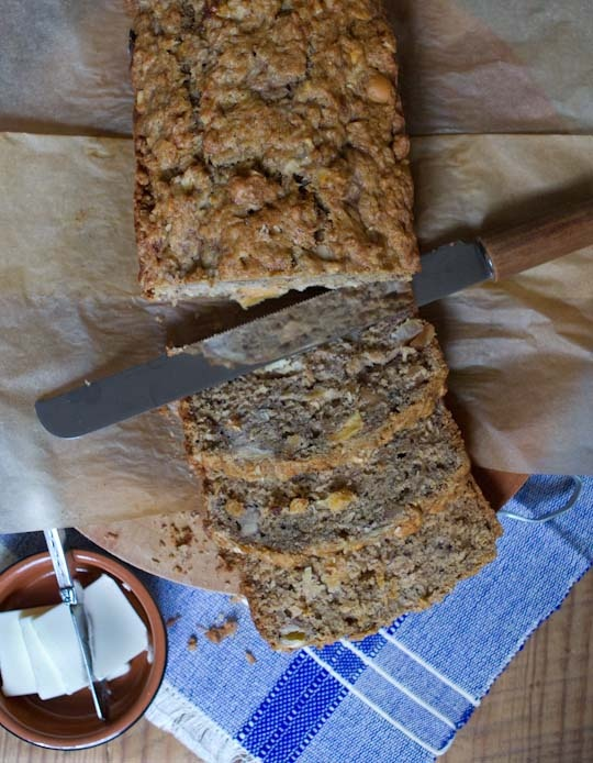 Tropical Banana Bread with Macadamia Nuts, Pineapple & Coconut Recipes ...
