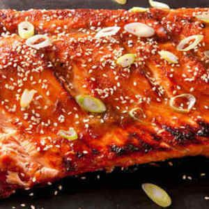 Miso Ginger Glazed Salmon | Asian Recipes | Pinterest
