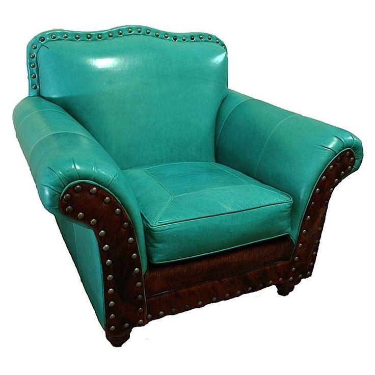Albuquerque Turquoise Club Chair sit chairs