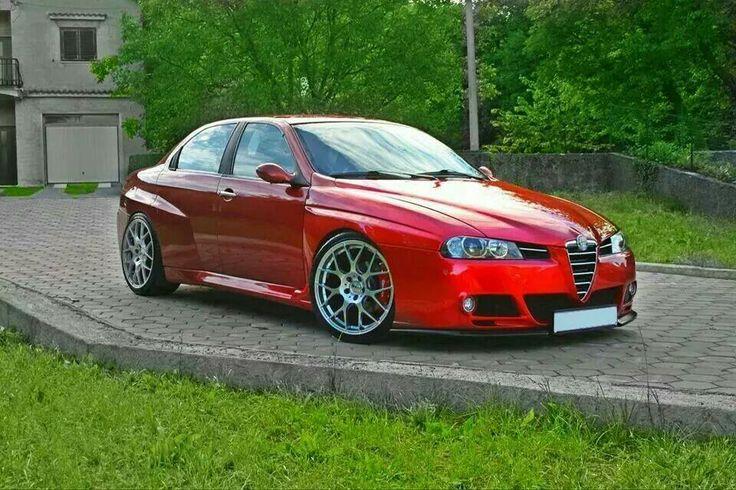 Alfa Romeo 156 tuning Art on Wheels Pinterest