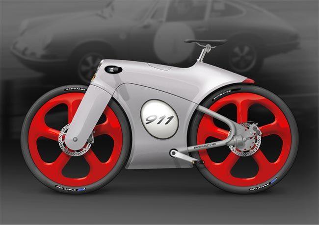 Design Concept Porsche 911 Bicycle Looks Amazing