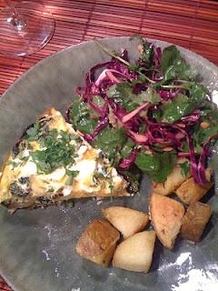 Goat Cheese, Potato and Kale Frittata | GF, DF, Primal, Paleo, Weston ...