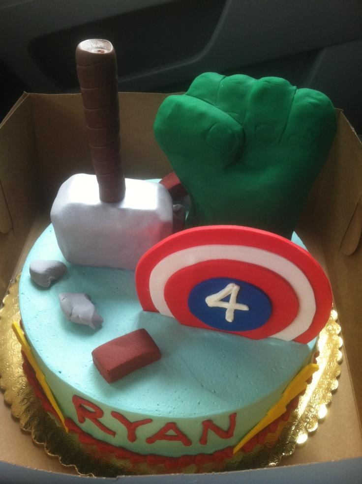 Avengers birthday cake! #avengers