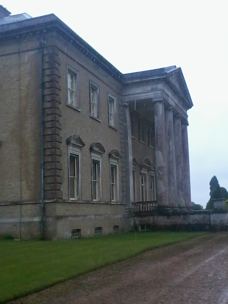 Beautiful Broadlands, Romsey, Hampshire. The collonaded portico was added in the 18th century