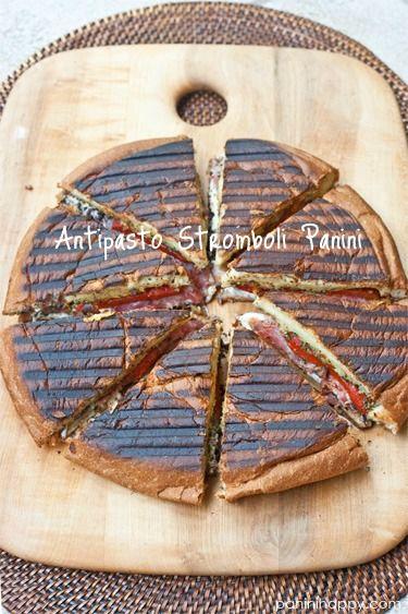 Antipasto Stromboli Panini...grilled sandwiches for a crowd - tapenade ...