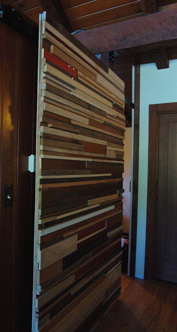 reclaimed sliding barn style door by OriginalGrainsters on Etsy, $40 ...