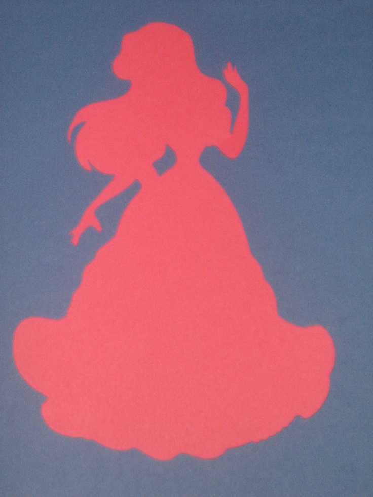 Disney Princess Ariel Silhouettes Disney Princess Ariel ...