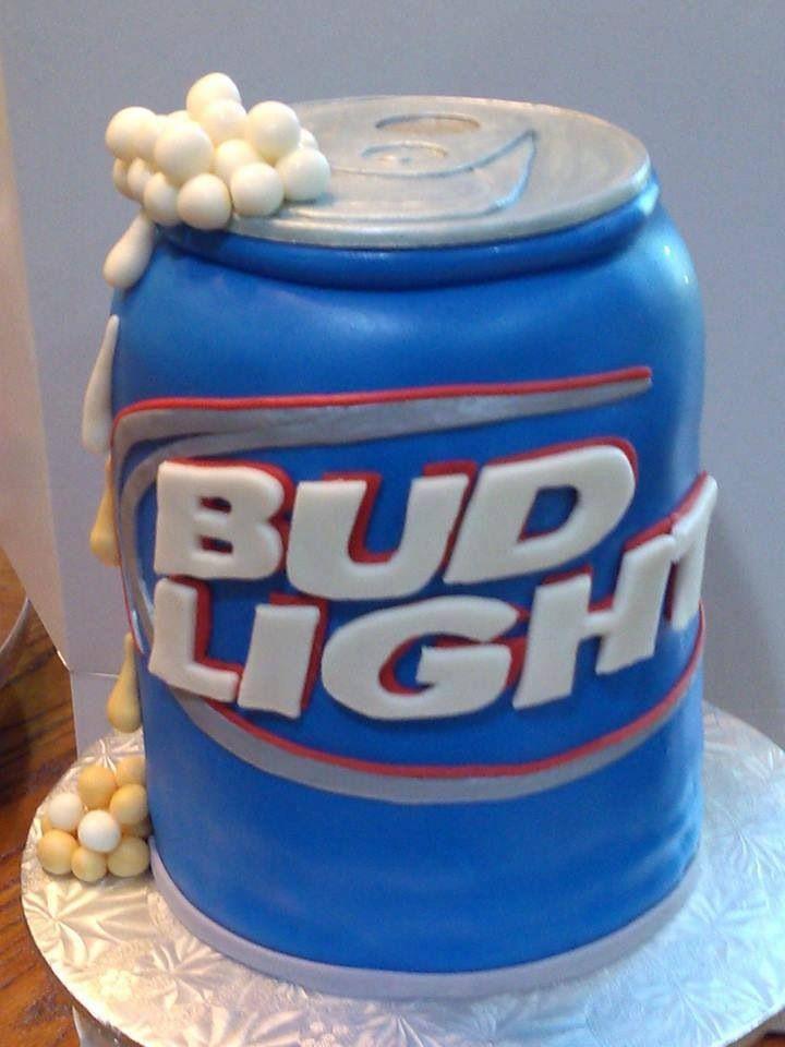 Bud Light Beer Cake Images