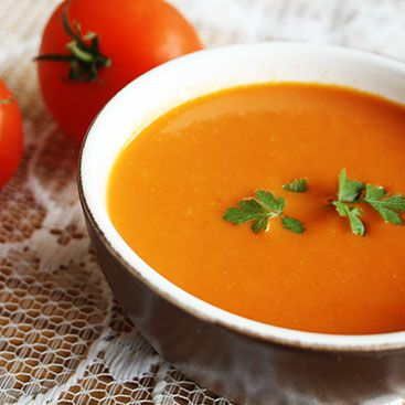 Recipe – Easy tomato soup | Ideas to cook and bake | Pinterest